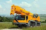 аренда автокрана 100 тонн Liebherr LTM 1100