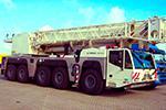 услуги крана Terex - Demag 160 тонн