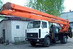 услуги автовышки ВС-28