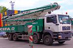 услуги автобетононасоса 52 метра Cifa K52L XRZ