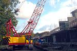 монтажный кран Kobelco CKE800 80 тонн