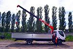 аренда гидроманипулятора 7 тонны