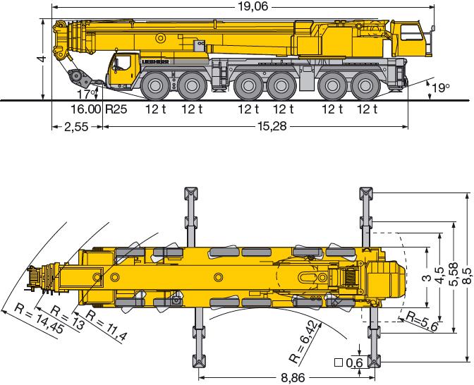 Аренда автокран 300 тонн