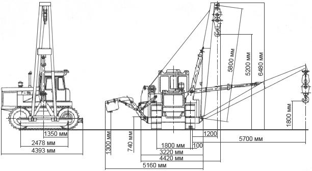 Трактор болотоход Т-170Б - utz.su